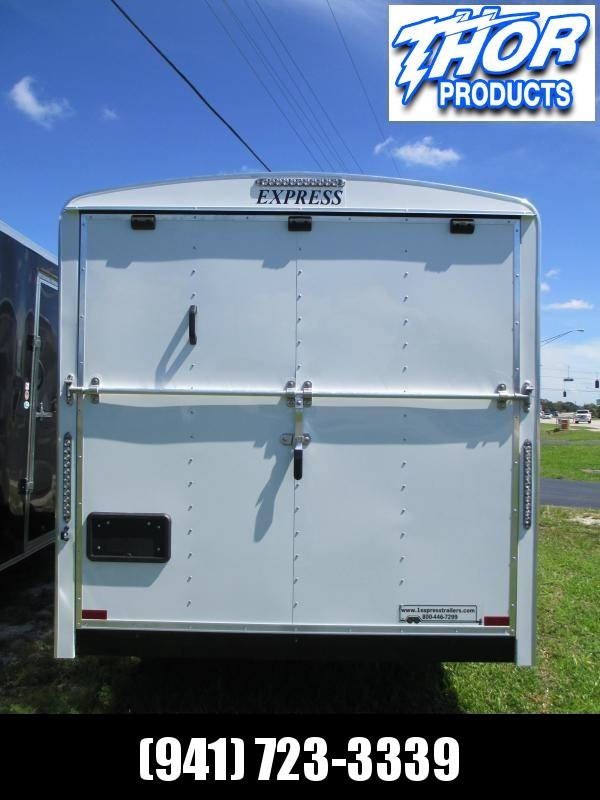 NEW 7x16 EXPRESS Commercial Duty Enclosed Trailer LANDSCAPERS DREAM!!