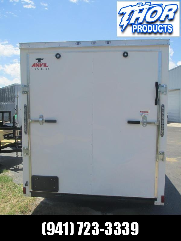 NEW 6 x 10 SA Trailer w/Ramp door Side Door WHITE