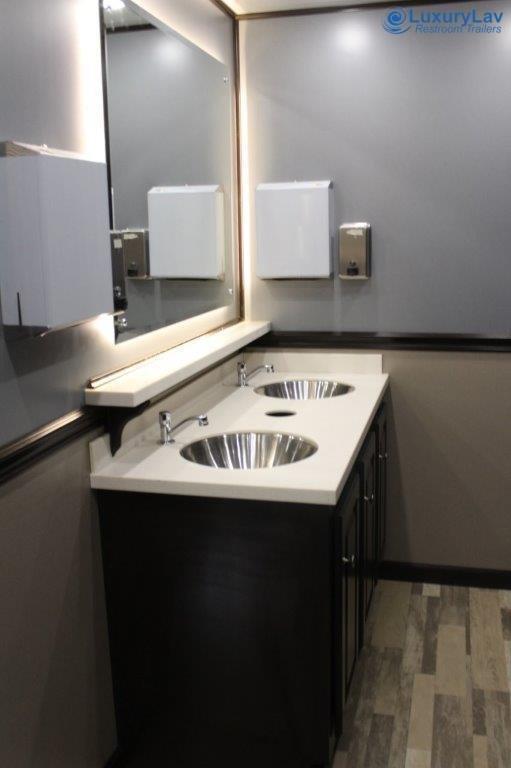 110 A LuxuryLav BT 10 Stall Restroom Trailer