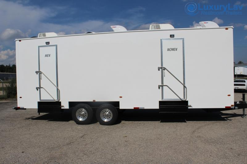 110 A LuxuryLav BT 10 Stall Restroom Trailer