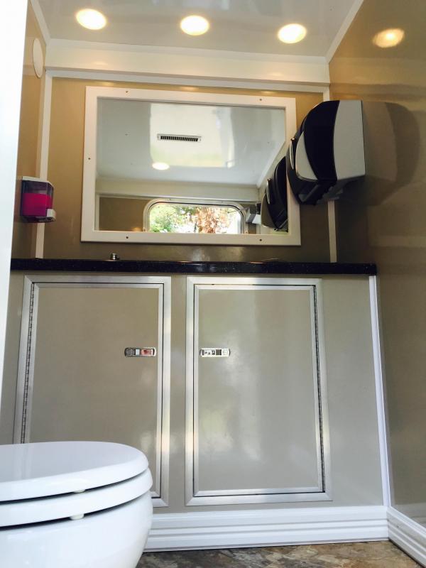 103B LuxuryLav Narrow Body 3-Stall Restroom Trailer