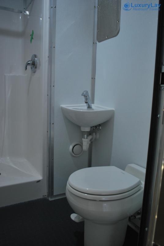 LuxuryLav ADA2 Specialty Laundry Restroom Shower