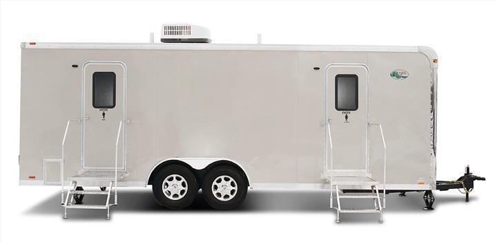 110 FR Wide Body Denali 10 Stall Restroom Trailer