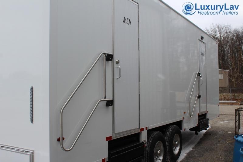 108 A LuxuryLav BT 8 Stall Public Restroom Trailer