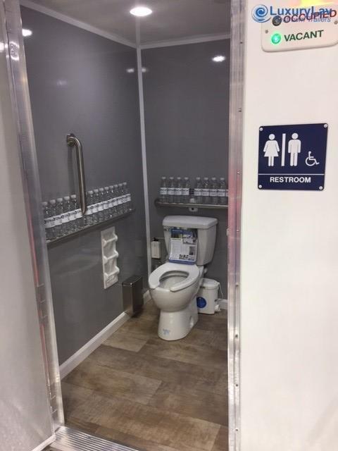 101 LuxuryLav ADA Single-Stall Restroom Trailer