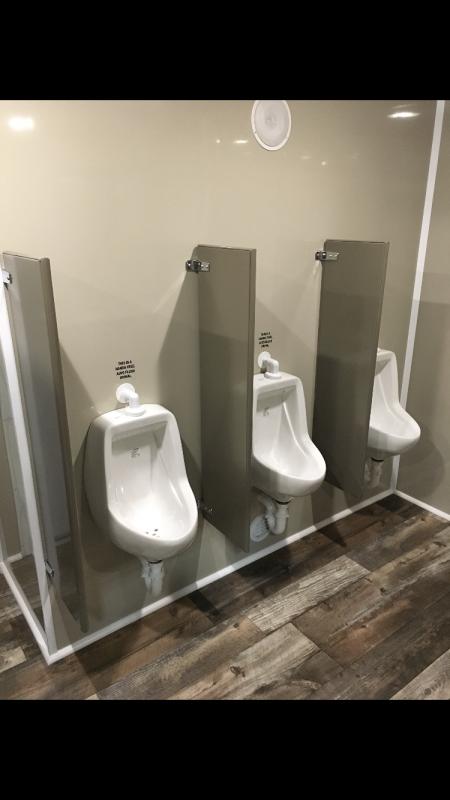110 FR Wide Body Denali 10 Stall Restroom Trailer