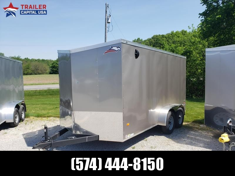 "2020 American Hauler Night Hawk 7x14 6'6"" Interior Height Enclosed Cargo Trailer"