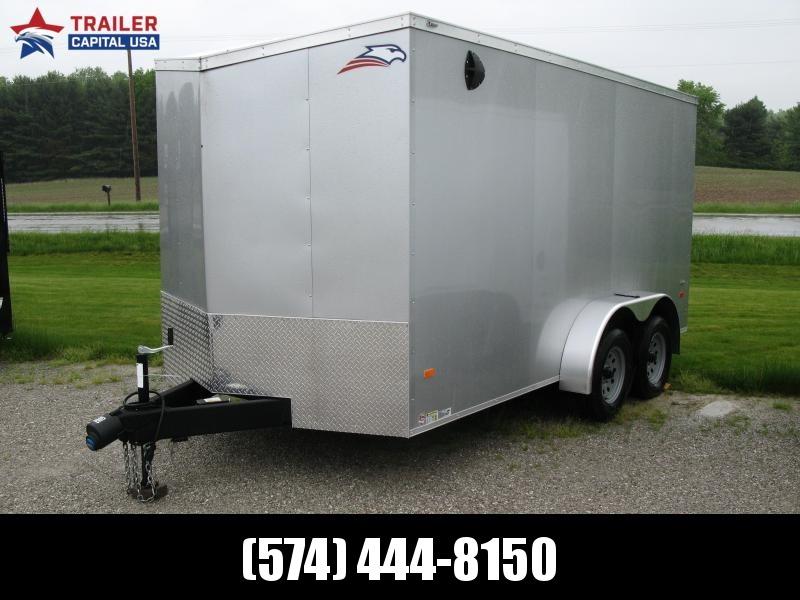 "2020 American Hauler Night Hawk 7x14 6'6"" Interior Height Enclosed Cargo Trailer"