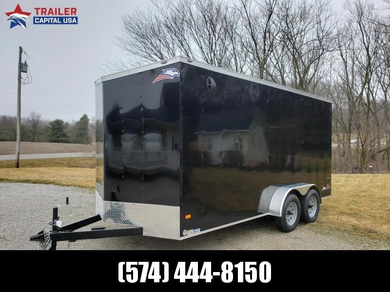 2020 American Hauler Arrow 7x16 Deluxe 7ft Interior Height Enclosed Cargo Trailer