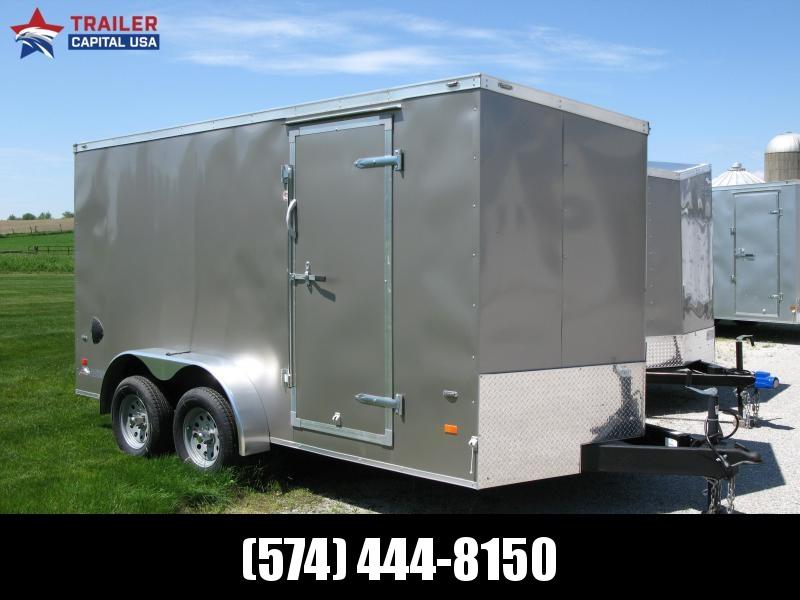 """2019 American Hauler Night Hawk 7x14 T2 6'6"""" Interior Height Enclosed Cargo Trailer"""