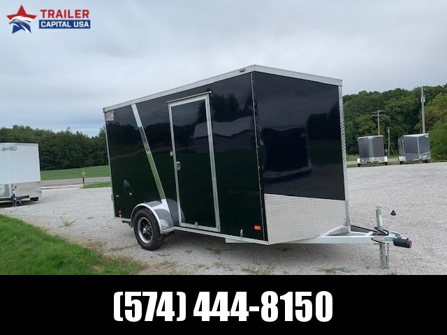 2019 American Hauler Aluminum 6'x12' Night Hawk Enclosed Cargo Trailer