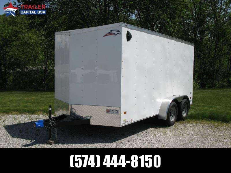 "2020 American Hauler Arrow 7x14 T2 Deluxe 6'6"" Interior Height Enclosed Cargo Trailer"