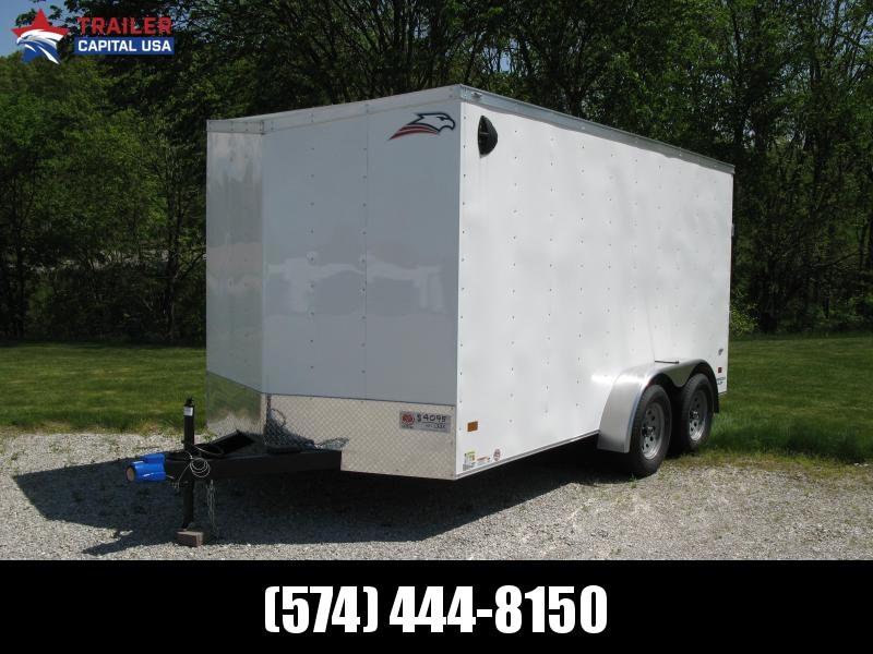"2020 American Hauler Arrow 7x14 T2 Deluxe 6'6"" Interior Height Enclosed Cargo Trailer"