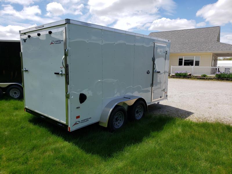 "2020 American Hauler Arrow 7'x14' Deluxe 6'6"" interior Height Enclosed Cargo Trailer"