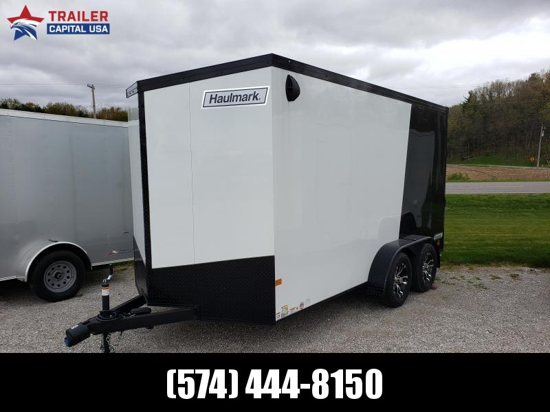 "2020 Phantom Trim Haulmark 7x14 Transport Cargo Trailer (7'0"" Interior Height)"