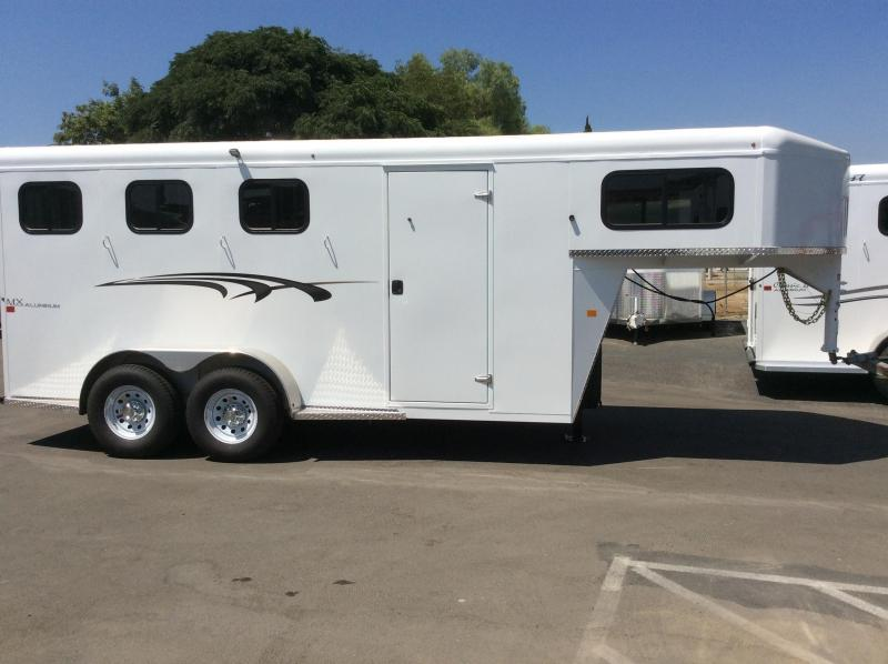 2019 Trails West Manufacturing ADVENTURE MX (GN) Horse Trailer