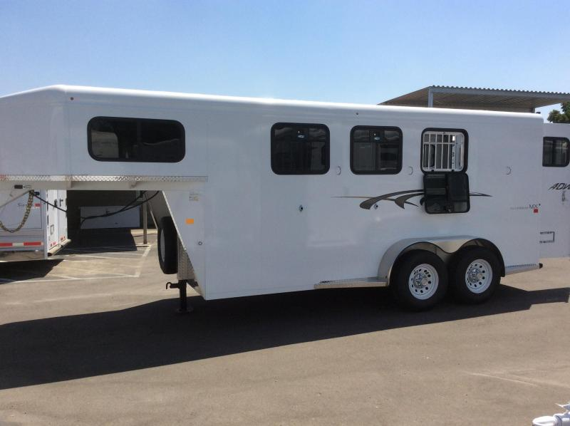 2020 Trails West Manufacturing ADVENTURE MX (GN) Horse Trailer