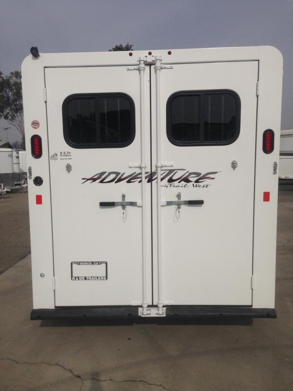 2020 Trails West 3 Horse BP Trailer