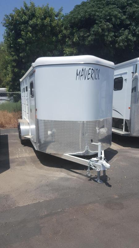 2020 Maverick Steel 3 Horse Trailer