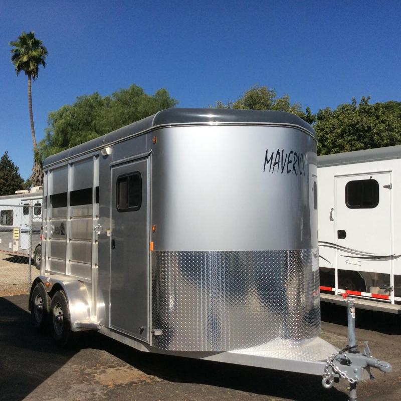 2019 Maverick Lite Warmblood 2 Horse Trailer