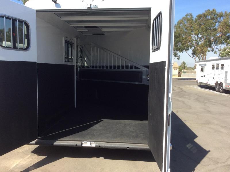 2019 Trails West Manufacturing CLASSIC II Horse Trailer