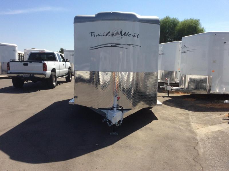 2020 Trails West Manufacturing CLASSIC II Horse Trailer