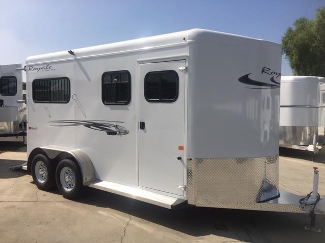 2020Trails West  ROYALE SXST 2 Horse Trailer