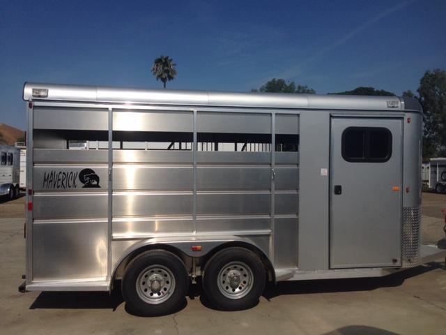 2020 Maverick Aluminum  2 Horse Trailer