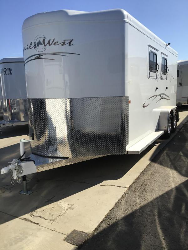 2020 Trails West CLASSIC II  2 Horse Trailer