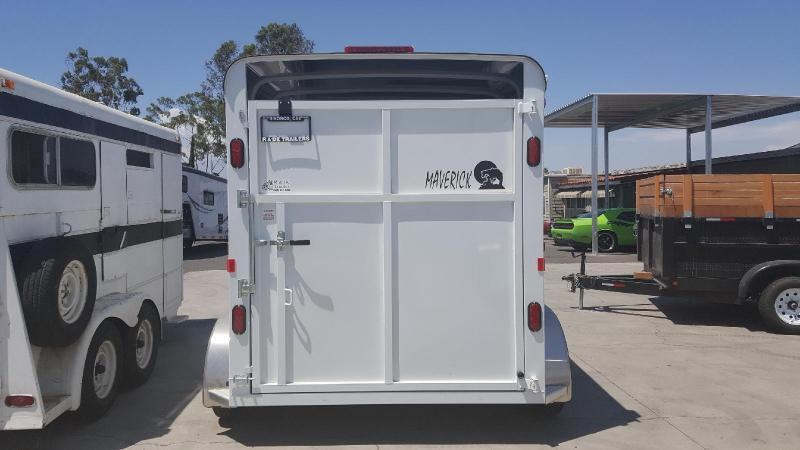 2020 Maverick Steel 2 Horse Trailer