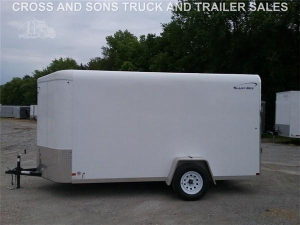 2019 Sharp 6 x 12 Single Axle Enclosed Trailer