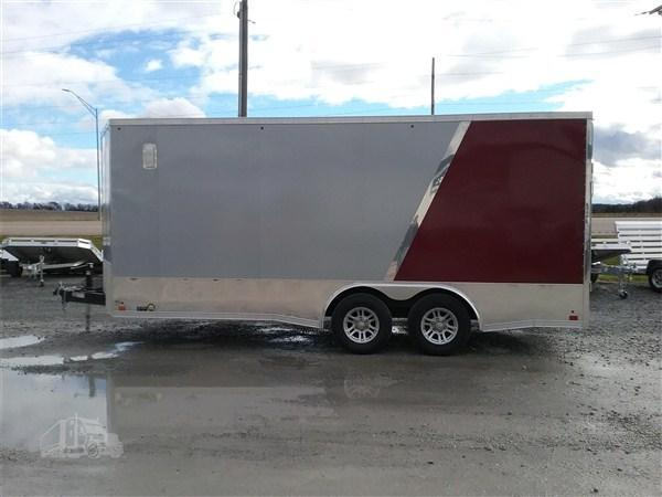 2019 Cross Trailers 8 x 18 TA Enclosed Trailer