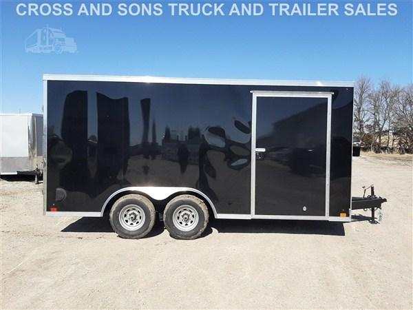 2021 Cross Trailers 8 x 16 TA Enclosed Trailer