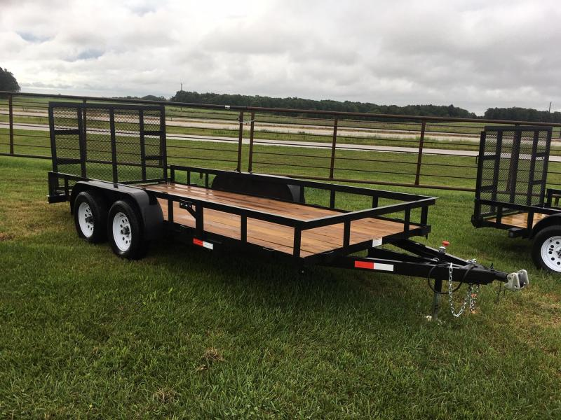 2019 STAG Trailers 16' Utility Trailer