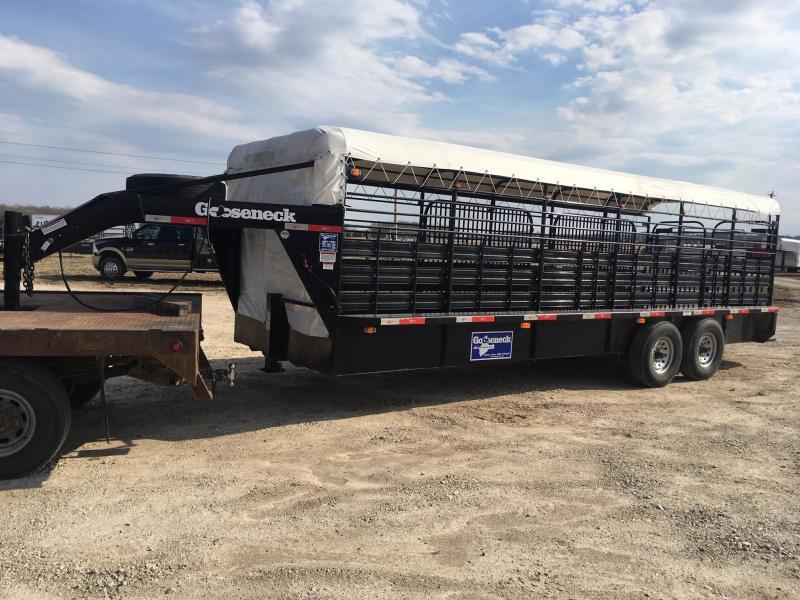 2015 Gooseneck brand Livestock Trailer