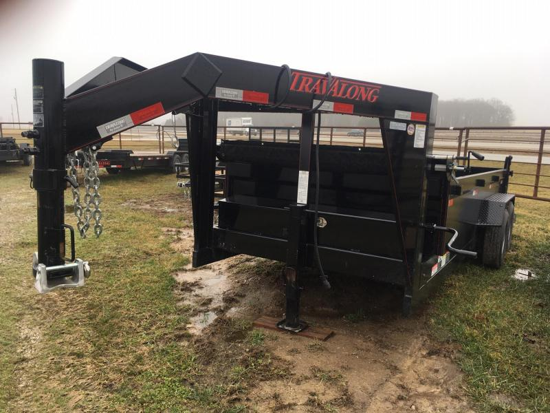 2019 Travalong Gooseneck Dump Trailer