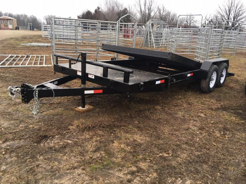 2020 STAG Trailers Tilt Equipment Trailer