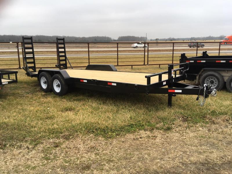 2020 STAG Trailers Skid Steer Trailer Flatbed Trailer