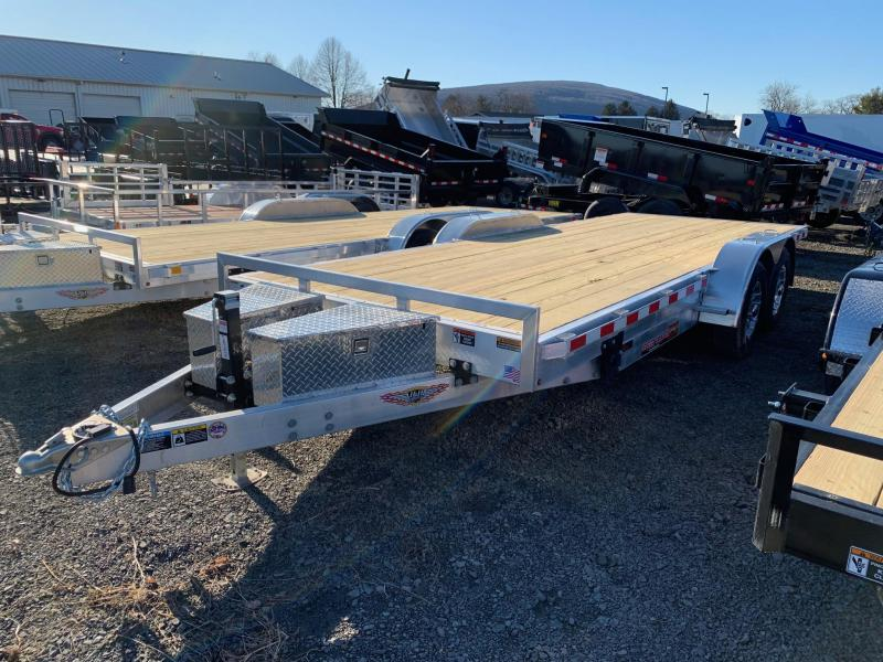 2020 H & H Trailers 20' 10K Aluminum Speedloader EX Car / Racing Trailer