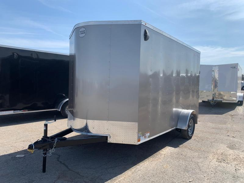 2020 Wells Cargo Fast Trac 7x12 3.5K Enclosed Cargo Trailer