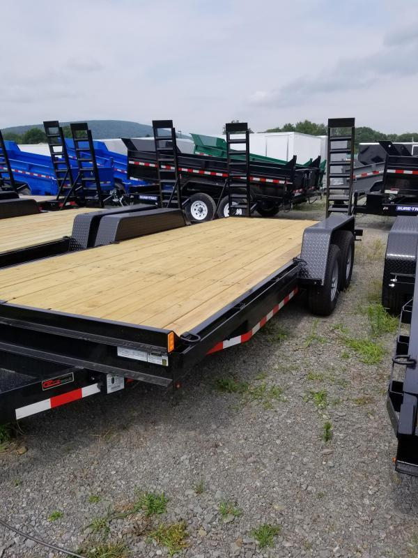 2020 Holmes 6-10x18 10K Equipment Hauler Equipment Trailer