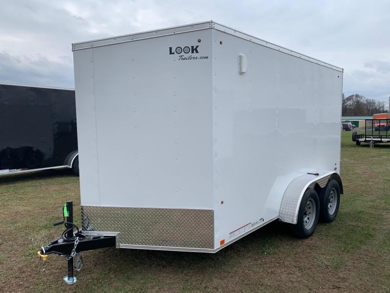 2020 Look Trailers 7x12 7K Enclosed Cargo Trailer