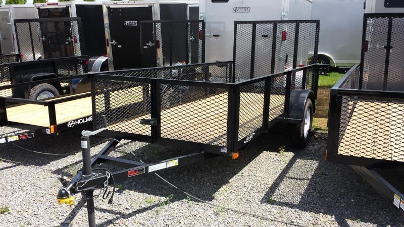 2019 Holmes 5x12 Mesh Side Utility Trailer