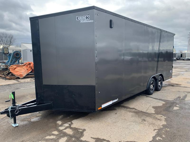 2021 Look Trailers Element SE 8.5x20 7K w/Blackout Package Enclosed Cargo Trailer