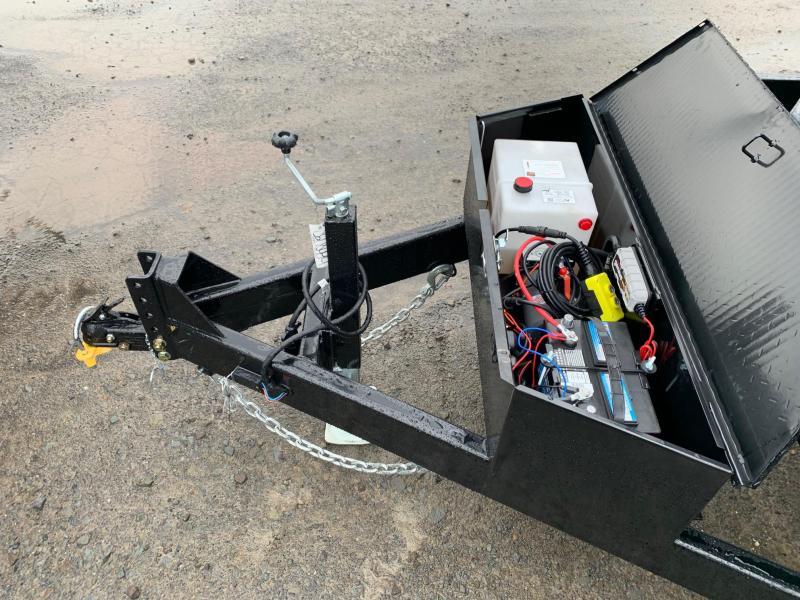 2020 Sure-Trac 7x14 14K Low Profile Dump Trailer