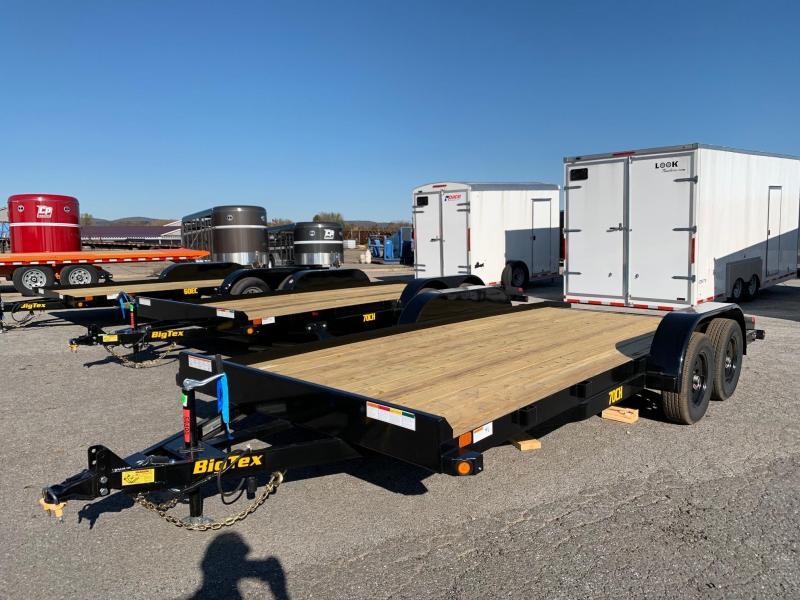 2020 Big Tex Trailers 83x18 7K Car / Racing Trailer