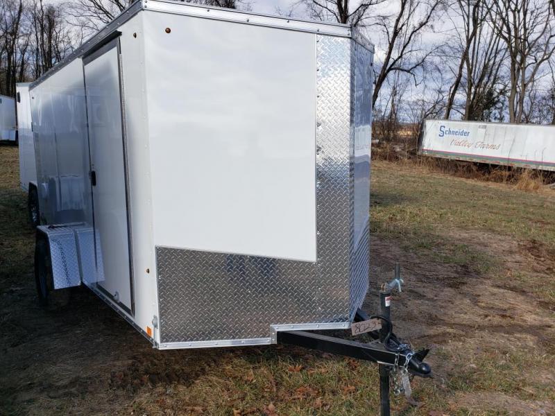 2019 Look Trailers 6x12 Element SE Enclosed Cargo Trailer