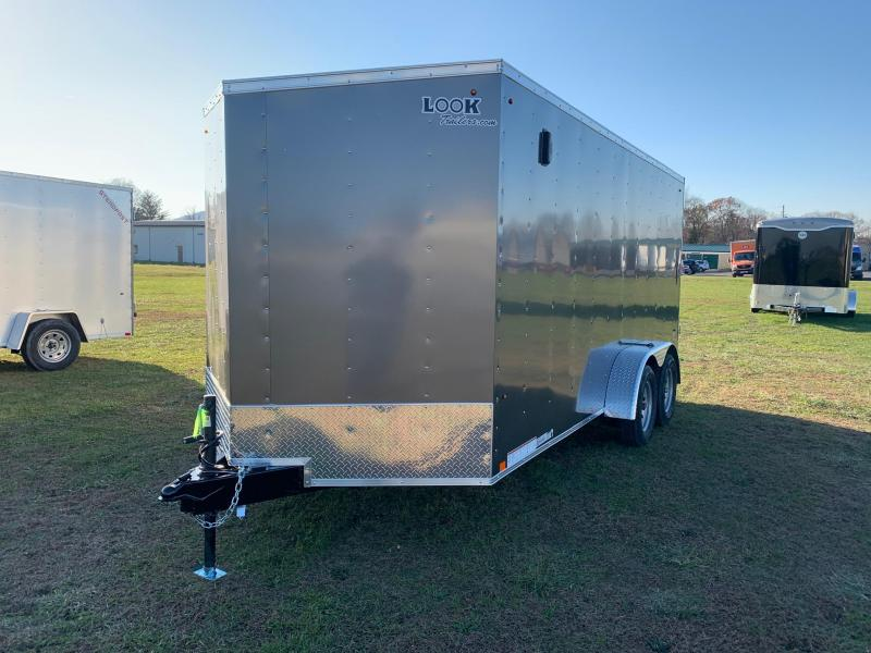 2020 Look Trailers 7x16 7K Enclosed Cargo Trailer