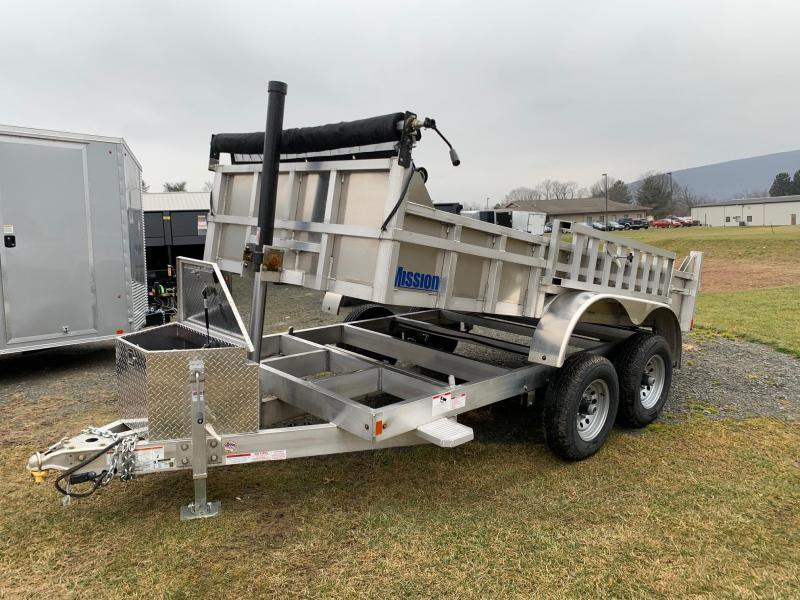2020 Mission 6x12 High Side Dump Trailer