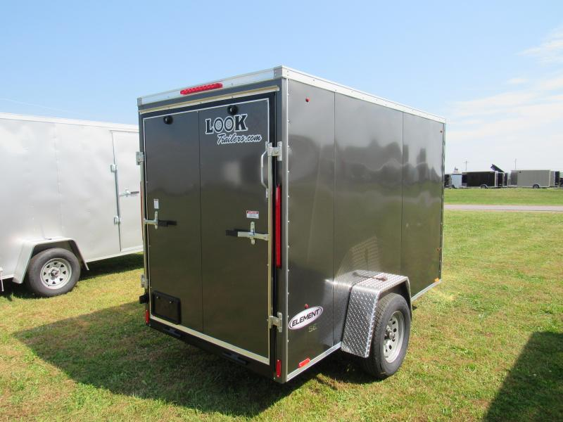 2020 Look Trailers 5x10 Element SE Enclosed Cargo Trailer